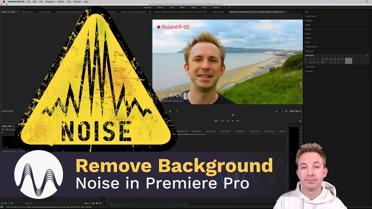 How to Remove Background Noise in Premiere Pro