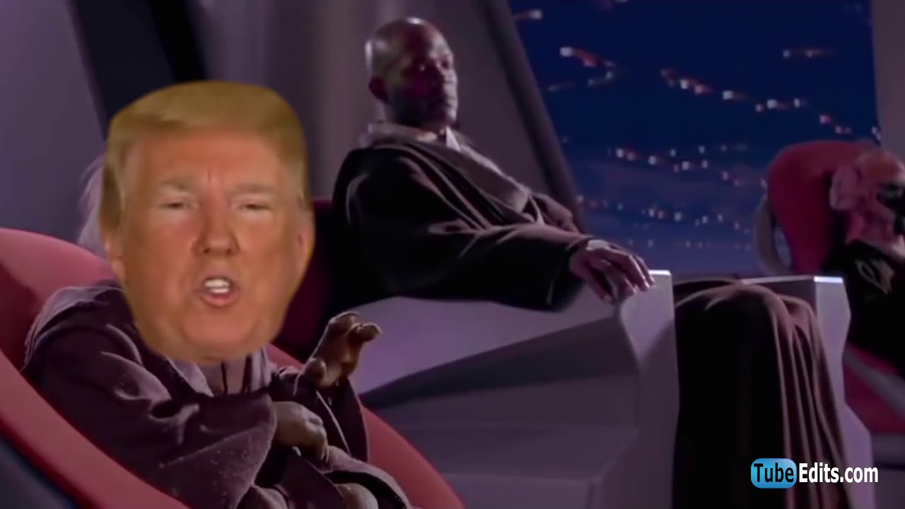 May the SPACE FORCE be with you! | Trump Space Force Parody