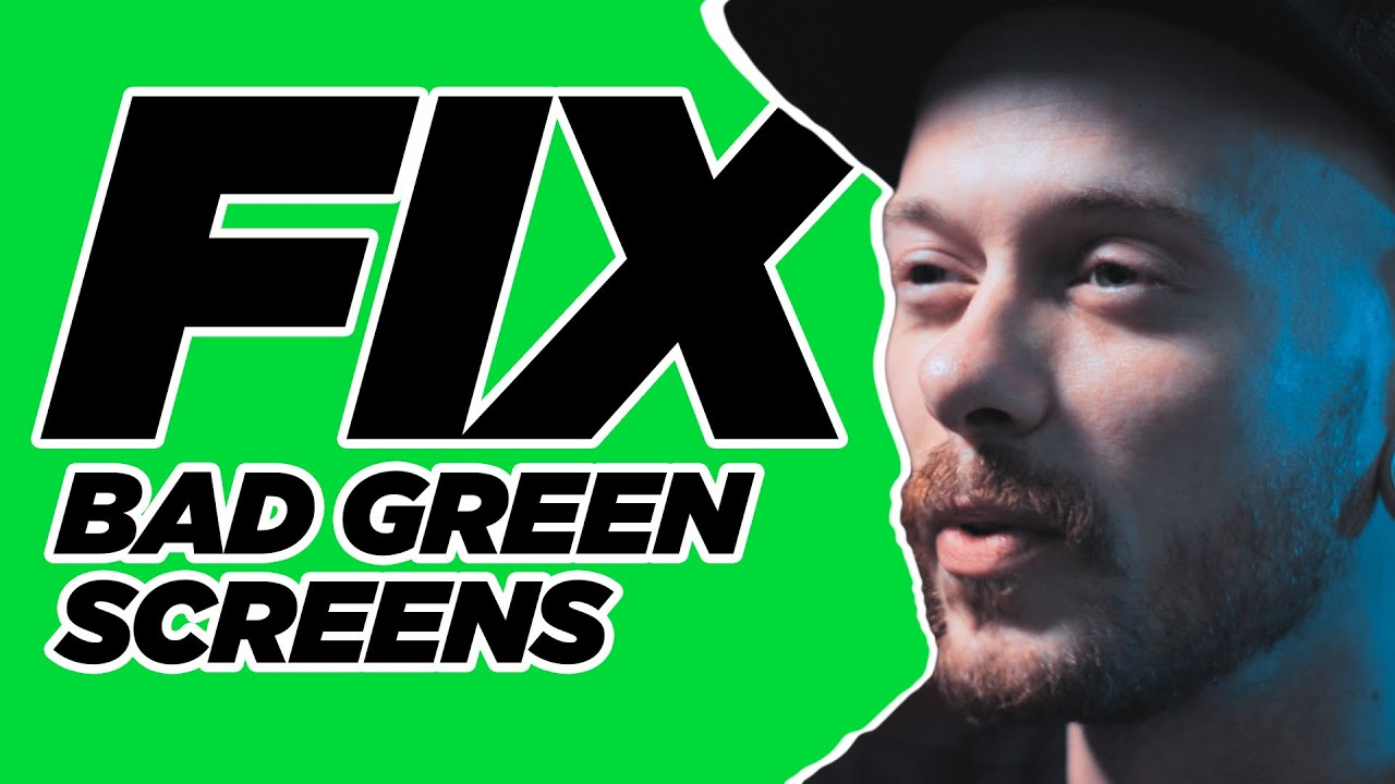 How to: Fix Bad Green Screens In Post UPDATE | Adobe After Effects 2020 Tutorial